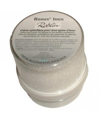 Crème régénérante pour les surfaces en Inox Roblin - Renov Inox