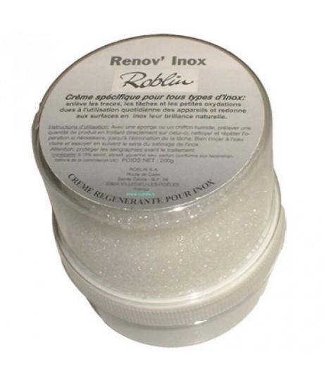 Crème régénérante pour les surfaces en Inox Roblin