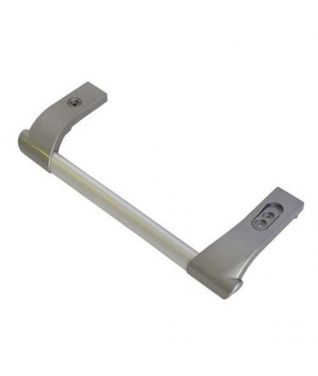 Poignée gris brillant pour les réfrigérateurs Indesit , scholtes, hotpoint ariston c00272833