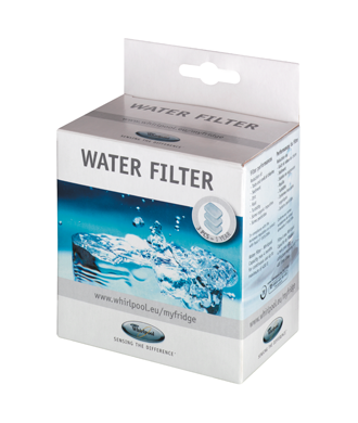 Filtre à eau Whirlpool 480181700369 481010536398 GRV001  Pack de 3