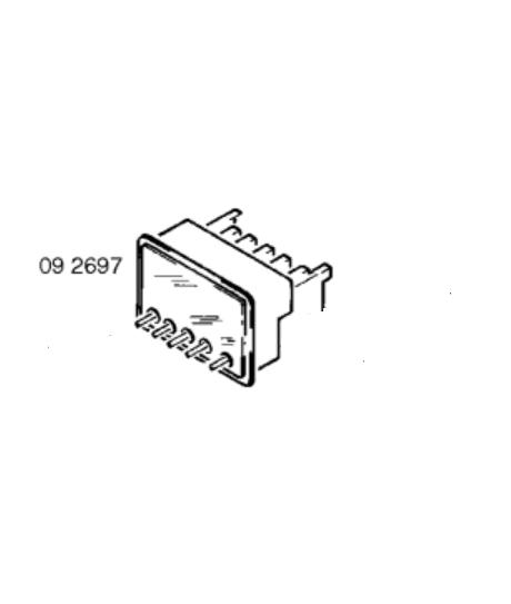 Programmateur de four combi micro-ondes Bosch et Siemens 00092697 92697