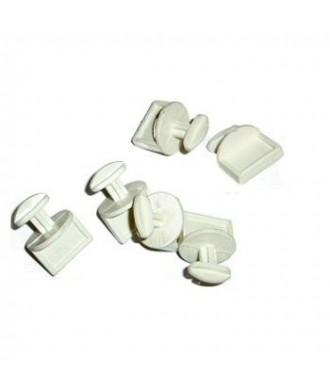 Loquet bac plastique 14BA009