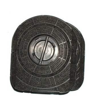 Filtre charbon Smeg KITFC220/200 lot de 2