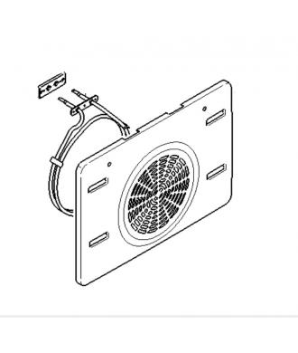 Résistance circulaire de four 11006432 Bosch Siemens Neff Viva Constructa