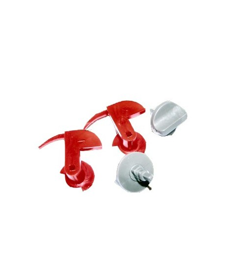 Set de fixation grille hotte Bosch Siemens Neff Verrouillage mécanique 00181272 181272
