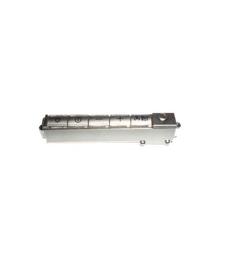 Clavier hotte gris roblin 31BC007 133.0071.130