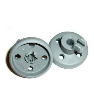 Jeu de 2 roulettes panier inférieur lave-vaisselle Bosch 66320 - 00066320