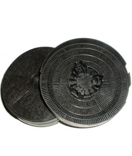 Filtre charbon jeu de 2 filtres