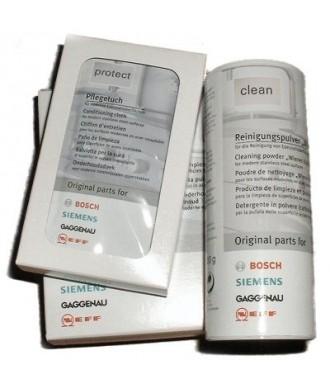 Kit nettoyant et d'entretien inox