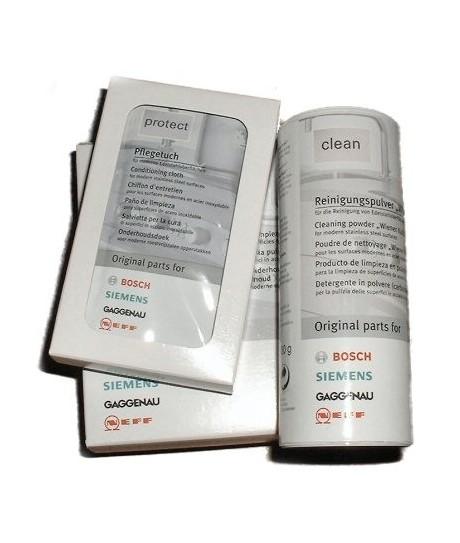 Kit solution pour l'entretien inox